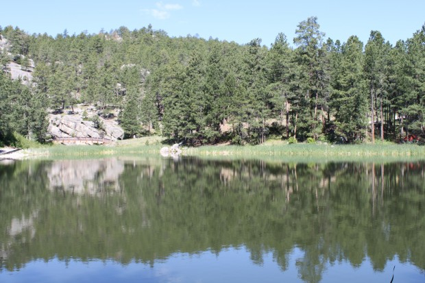 Horsethief Lake. Black Hills, South Dakota